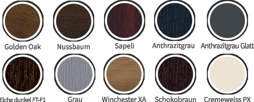 Kömmerling 88+ műanyag ablak típusok és színek