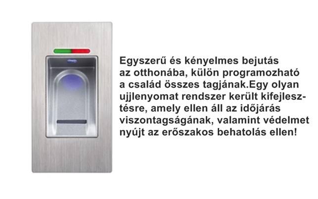 Eneo Doorsafe beépített ujjlenyomat szkenner