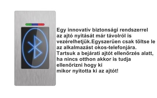 Eneo Doorsafe távolról vezérelhető Bluetooth ikon