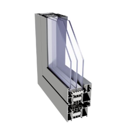 ALIPLAST Superial i+ alumínium nyílászáró szerkezete profilból