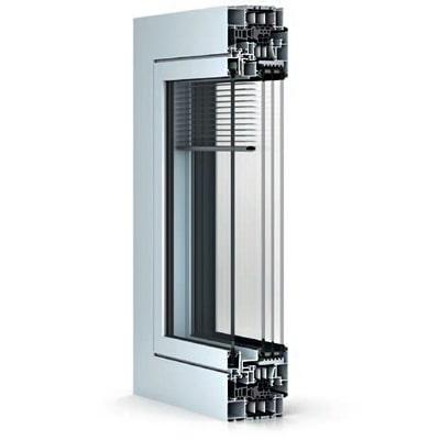 WICONA WICLINE 115 AFS alumínium nyílászáró szerkezete