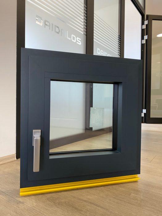 Alumínium ablak rejtett bukó-nyíló vasalattal