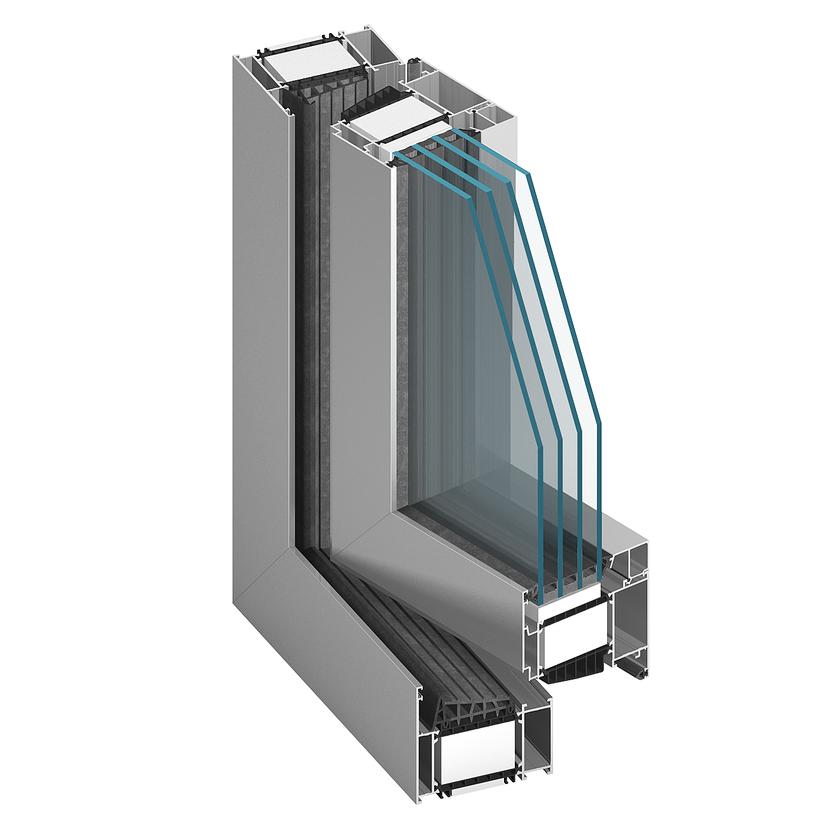 ALUPROF MB 104 alumínium ablak