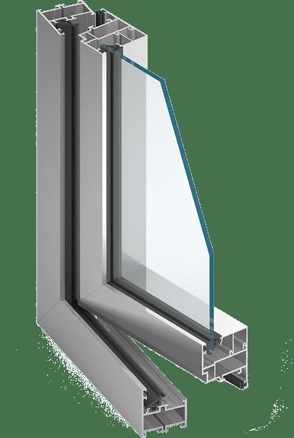 Aluprof MB 45 Alumínium ablak