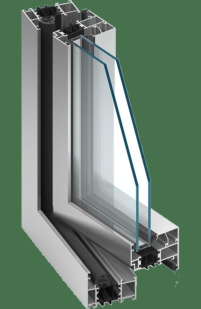 ALUPROF MB 70 Alumínium ablak