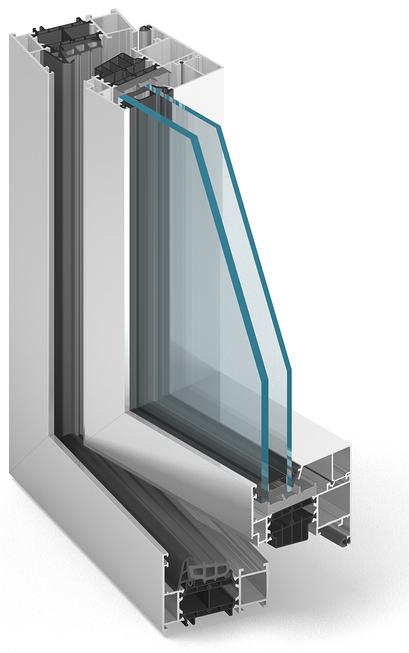 ALUPROF MB 86 Alumínium ablak